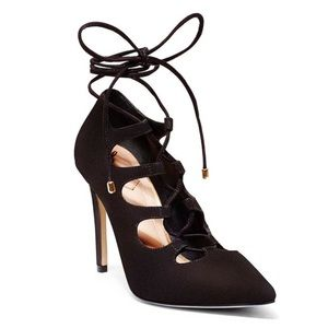 Brian Atwood Lace Up Heels Pavia Ghillie Pumps 6